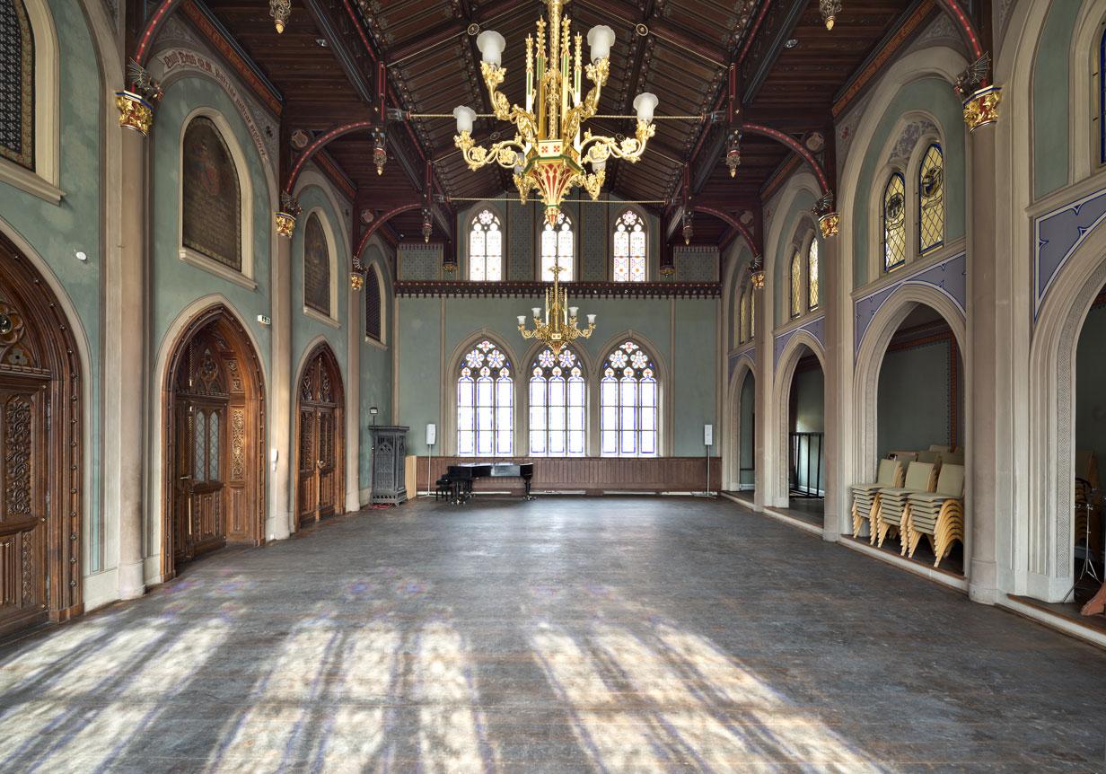Veranstaltungsraum Aula der Ritterakademie