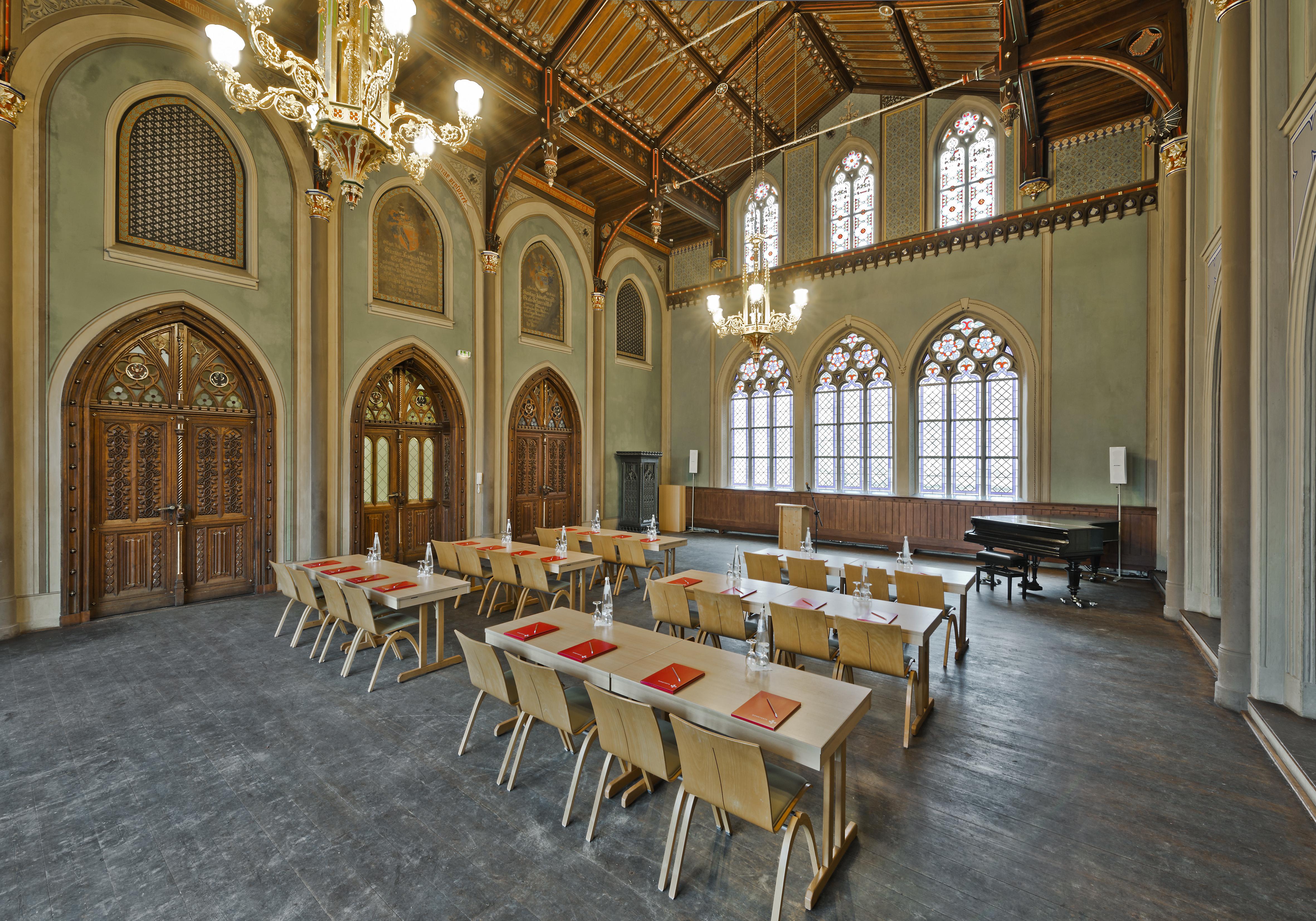 Tagungslocation Aula der Ritterakademie
